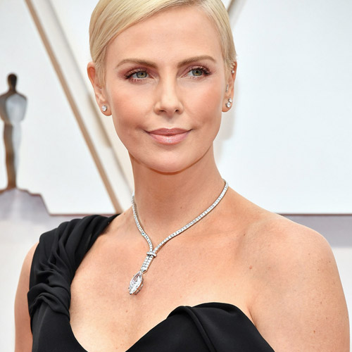 Charlize Theron. Photo courtesy of Dior.